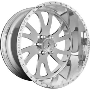 22x12 American Force Octane Ss Forged Wheels 22 F150 Expedition 6x135 40
