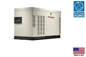 Standby Generator Commercial residential 30 Kw 120 240v 1 Phase Ng Lp