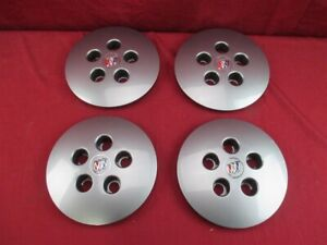 Nos Oem Buick Park Avenue Center Cap 1991 92 Gray Fits 50 Rib Wheels Set Of 4