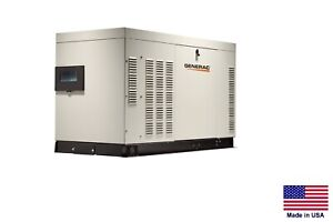 Standby Generator Commercial residential 36 Kw 120 240v 1 Phase Ng Lp