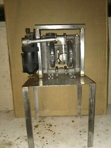 Wilden Stainless Steel 1 2 M1 Diaphragm Pump With Regulator filter And Oiler