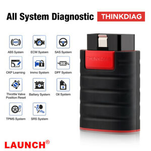 Launch Thinkdiag X431 Full System Obdii Diagnostic Scan Tool 1 Free Software