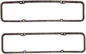 Fel Pro Sbc Valve Cover Gaskets 1pr 7 32in Cork Rubber 1603