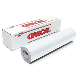 Oracal 651 Glossy Vinyl Roll 12 Inches By 150 Feet White