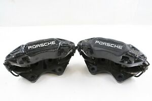 Porsche 911 964 C2 C4 Oem Set Of Brembo Rear Brake Calipers 4 Piston