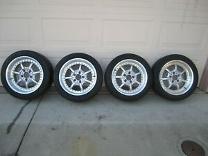 Bbs bmw Style 19 Staggered 17 8 9 With 2 New 255 40 17 Good Original Cond