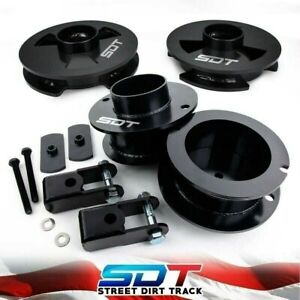 3 5 2 5 Level Lift Kit For 14 20 Dodge Ram 2500 2wd 4wd W Shock Extenders
