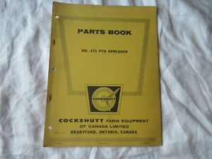 1962 Cockshutt Oliver 471 Pto Manure Spreader Parts Book Catalog Manual