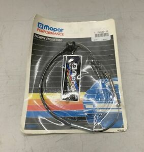 1970 74 E Body 71 B Nos 440 6 Pack Throttle Cable Purple Stripe Six Barrel Cuda