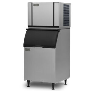 Ice o matic Cim0430hw b40ps Cube style Ice Maker Plus Ice Bin For Ice Machines