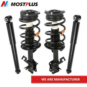 Set 4 Front Rear Struts Shock Absorbers Assembly Fit 07 12 Nissan Sentra 2 0l
