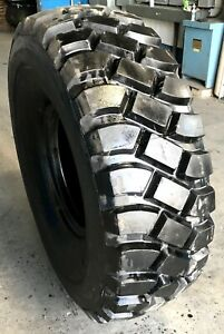 Military Surplus 16 00 X 20 Goodyear At2a Tire 70 Tread Average