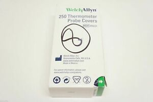 Welch Allyn 05031 Digital Thermometer Disposable Probe Covers 250
