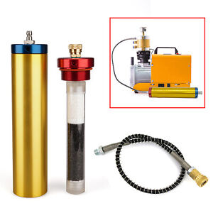 Pcp Air Compressor 4500psi Oil Water Filter Separator High Pressure 30mpa 300bar
