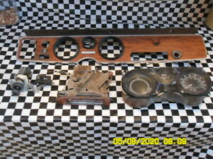 Pontiac Firebird Dash Woodgrain Early Design Formula W Cluster Switches Heater