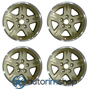 Jeep Wrangler 2004 2005 2006 15 Oem Wheels Rims Full Set