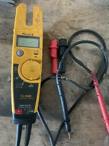 Fluke T5 1000 Voltage continuity current Tester