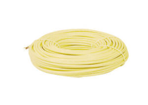 Steren 100ft Round Telephone Wire 6 conductor Ivory