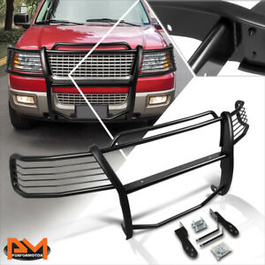 For 03 06 Ford Expedition U222 Front Bumper Brush Grille Guard Protector Black