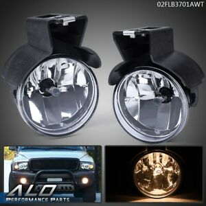Fog Lights Pair For 1997 2000 Dodge Dakota 98 00 Durango Pickup Left