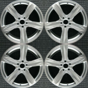 Ford Mustang Hyper Silver 19 Oem Wheel Set 2013 To 2014