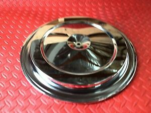 Air Cleaner Filter Lid Gm Chrome Chevy Gmc Stock Oem Truck And Car Corvette