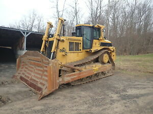 1989 Caterpillar D8n Crawler Dozer Bulldozer Clean Ripper Semi U Erops D8