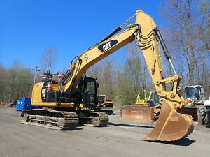 2014 Caterpillar 320e Lrr Hydraulic Excavator Low Hours Q c Aux Cat 320el