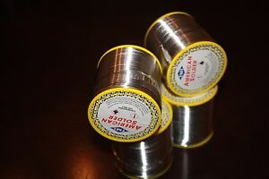 New 400g 2mm 60 40 Tin Lead Solder Rosin Flux Wire Roll Soldering pack Of 4