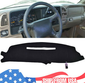 Dashboard Cover For Chevy Silverado C1500 C2500 C3500 1997 1998 Dashmat Dash Mat