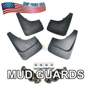 Universal Front Rear Mud Flaps Splash Guards Mudguards Fender For Pick Up Truck