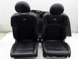 Mercedes C55 Amg Sedan Leather Seats Black W203 01 07 Oem C230 C240