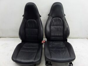Porsche Boxster Front Seats Navy Blue 986 97 04 Oem Hot Rod Custom 944
