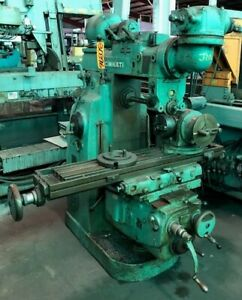 Cincinnati Horizontal Mill No 2mi Universal Overarm 10 X 52 Table 30396