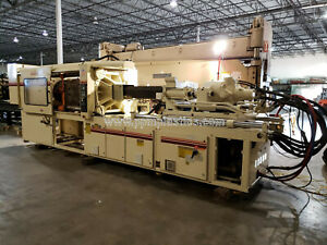 1990 Milacron Vh400 3904a01901 Used Plastic Injection Molding Machine