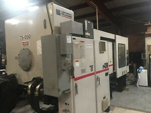 1998 Milacron Mh500 54 h05a0498049 Used Plastic Injection Molding Machine