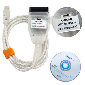 Eus K dcan Usb Interface Inpa Obd2 Can Diagnostic Scan Cable With Switch For Bmw