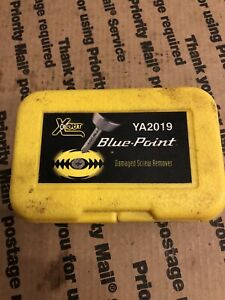 Blue Point Damaged Screw Removers In Case X Out Ya2019