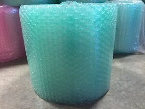 Zv 1 2 X 24 X 250 250ft Large Recycled Bubble Padding Cushioning Wrap Roll