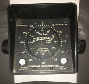 Vintage Hummingbird Super Sixty Waterproof Depth Sounder WPS 60
