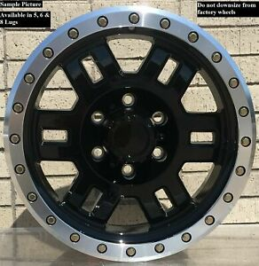 4 Wheels For 17 Inch Dodge Ram 1500 2007 2008 2009 2010 2011 2012 Rims 1834