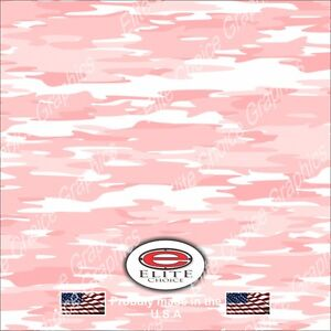 Traditional Pink Camo Decal Wrap Vinyl 52 x15 Truck Print Real Camouflage