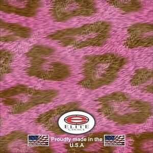 Pink Leopard Wrap Vinyl Truck Camo Car Suv Real Camouflage 52 X6ft