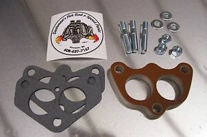 Fits Stromberg 97 Holley 94 Carb Spacer Phenolic Riser Edelbrock Dual Super 1 2