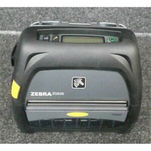 Zebra Zq520 Direct Thermal Monochrome Mobile Receipt Printer No Battery cord
