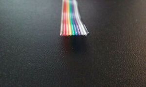 200ft 10 Conductor 28awg Color Rainbow Ribbon Wire Cable