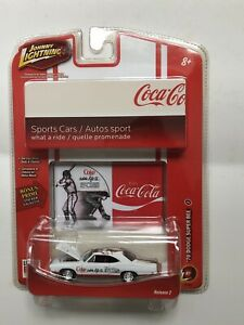 JOHNNY LIGHTNING COCA COLA  1970 DODGE SUPER BEE 1:64 LIMITED ED R2 #51