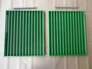 Front Side Screen Set Of 2 With Springs For John Deere 4000 4010 4020
