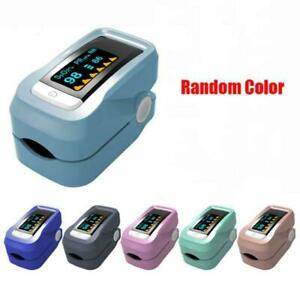 Pulse Oximeter Finger Blood Oxygen Saturation Monitor Spo2 With Oled Display Hot