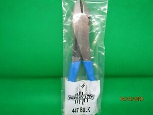 7 3 4 Lap Joint Pliers Curved Diag Cutter By Channellock 447 Usa Made